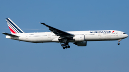 Shotaroさんが、上海浦東国際空港で撮影したエールフランス航空 777-328/ERの航空フォト(飛行機 写真・画像)