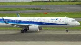 るかりおさんが、羽田空港で撮影した全日空 A321-272Nの航空フォト(飛行機 写真・画像)