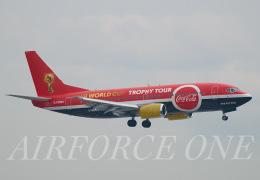 AIRFORCE ONEさんが、羽田空港で撮影したタイタン エアウェイズ 737-33A(QC)の航空フォト(飛行機 写真・画像)