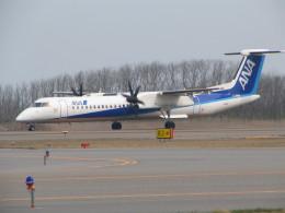 kahluamilkさんが、新潟空港で撮影したエアーニッポンネットワーク DHC-8-402Q Dash 8の航空フォト(飛行機 写真・画像)