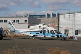 ショウさんが、仙台空港で撮影した海上保安庁 S-76Dの航空フォト(飛行機 写真・画像)