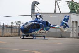 ショウさんが、仙台空港で撮影した東北エアサービス EC135P3の航空フォト(飛行機 写真・画像)