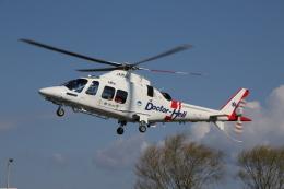 ショウさんが、関屋ヘリポートで撮影した静岡エアコミュータ AW109SP GrandNewの航空フォト(飛行機 写真・画像)