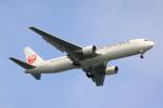 けいとパパさんが、羽田空港で撮影した日本航空 767-346/ERの航空フォト(飛行機 写真・画像)