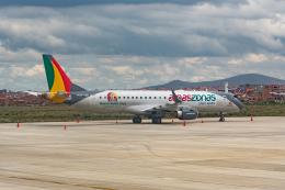 naniwaskyさんが、エル・アルト国際空港で撮影したアマスゾナス ERJ-190-100(ERJ-190STD)の航空フォト(飛行機 写真・画像)
