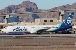 キャスバルさんが、フェニックス・スカイハーバー国際空港で撮影したアラスカ航空 737-990の航空フォト(飛行機 写真・画像)