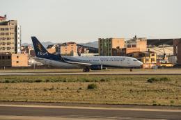naniwaskyさんが、エル・アルト国際空港で撮影したボリビアーナ航空 737-8Q8の航空フォト(飛行機 写真・画像)