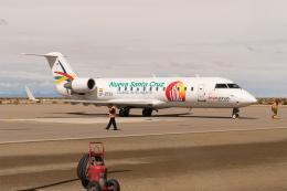 naniwaskyさんが、ジョヤ・アンディーナ空港で撮影したアマスゾナス CL-600-2B19(CRJ-200LR)の航空フォト(飛行機 写真・画像)