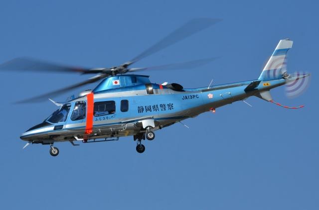 ブルーさんさんが、静岡ヘリポートで撮影した静岡県警察 A109E Powerの航空フォト(飛行機 写真・画像)