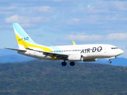 むらさめさんが、新千歳空港で撮影したAIR DO 737-781の航空フォト(飛行機 写真・画像)