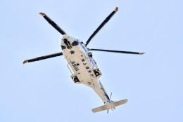 のぶさん。さんが、中部国際空港で撮影した海上保安庁 AW139の航空フォト(飛行機 写真・画像)