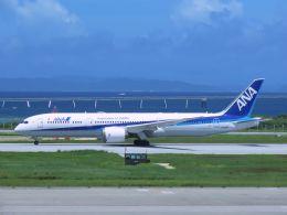 cooymdさんが、那覇空港で撮影した全日空 787-9の航空フォト(飛行機 写真・画像)