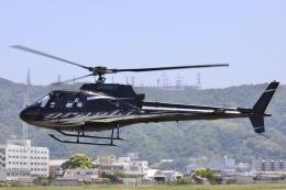 Hii82さんが、八尾空港で撮影した日本法人所有 AS350B Ecureuilの航空フォト(飛行機 写真・画像)