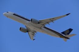 Souma2005さんが、香港国際空港で撮影したシンガポール航空 A350-941の航空フォト(飛行機 写真・画像)