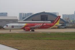 Rsaさんが、タンソンニャット国際空港で撮影したベトジェットエア A321-271NXの航空フォト(飛行機 写真・画像)