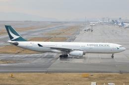 Hii82さんが、関西国際空港で撮影したキャセイパシフィック航空 A330-343Xの航空フォト(飛行機 写真・画像)