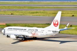 のぶさん。さんが、中部国際空港で撮影した日本トランスオーシャン航空 737-8Q3の航空フォト(飛行機 写真・画像)