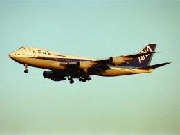 エルさんが、成田国際空港で撮影した全日空 747-281Bの航空フォト(飛行機 写真・画像)