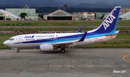 RINA-281さんが、小松空港で撮影した全日空 737-781の航空フォト(飛行機 写真・画像)