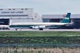 パール大山さんが、成田国際空港で撮影したパキスタン国際航空 707-340Cの航空フォト(飛行機 写真・画像)