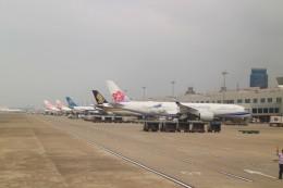 Rsaさんが、台湾桃園国際空港で撮影したチャイナエアライン A350-941の航空フォト(飛行機 写真・画像)