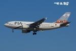 tassさんが、成田国際空港で撮影したパキスタン国際航空 A310-325/ETの航空フォト(飛行機 写真・画像)