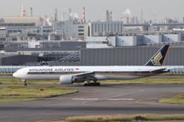 walker2000さんが、羽田空港で撮影したシンガポール航空 777-312/ERの航空フォト(飛行機 写真・画像)