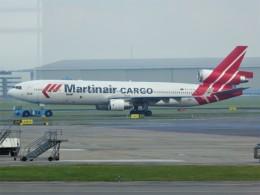 walker2000さんが、アムステルダム・スキポール国際空港で撮影したマーティンエアー MD-11CFの航空フォト(飛行機 写真・画像)