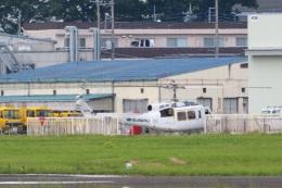 レガシィさんが、宇都宮飛行場で撮影したエフ・エー・エス 205B(FujiBell)の航空フォト(飛行機 写真・画像)