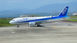 deep77さんが、徳島空港で撮影した全日空 A320-271Nの航空フォト(飛行機 写真・画像)