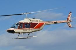 ブルーさんさんが、群馬ヘリポートで撮影したヘリサービス 206B-3 JetRanger IIIの航空フォト(飛行機 写真・画像)