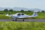 Gambardierさんが、岡南飛行場で撮影した日本法人所有 DA40 NG Diamond Starの航空フォト(飛行機 写真・画像)