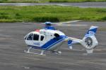 Gambardierさんが、岡南飛行場で撮影した中日本航空 EC135P2+の航空フォト(飛行機 写真・画像)