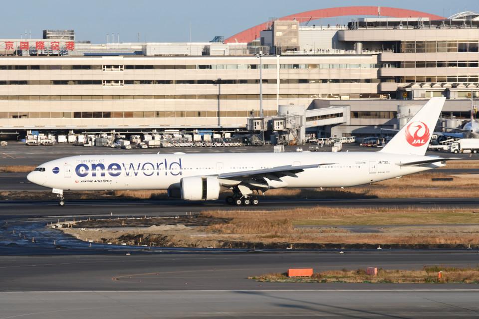 kuro2059さんの日本航空 Boeing 777-300 (JA732J) 航空フォト