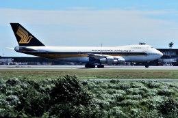 パール大山さんが、成田国際空港で撮影したシンガポール航空 747-212Bの航空フォト(飛行機 写真・画像)