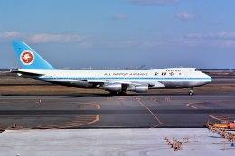 パール大山さんが、羽田空港で撮影した全日空 747SR-81の航空フォト(飛行機 写真・画像)