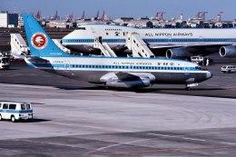 パール大山さんが、羽田空港で撮影した全日空 737-281/Advの航空フォト(飛行機 写真・画像)