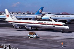 パール大山さんが、羽田空港で撮影した日本航空 DC-8-61の航空フォト(飛行機 写真・画像)