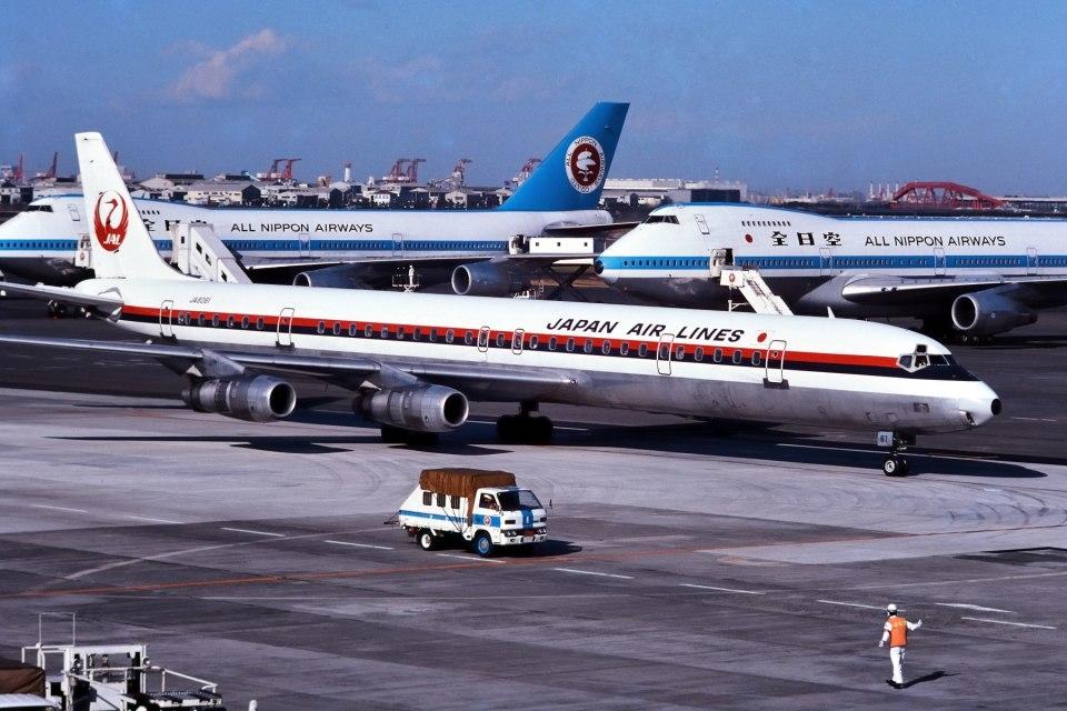 パール大山さんの日本航空 Douglas DC-8 (JA8061) 航空フォト