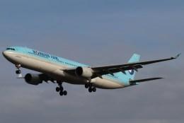 BOEING737MAX-8さんが、成田国際空港で撮影した大韓航空 A330-322の航空フォト(飛行機 写真・画像)