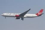 BTYUTAさんが、インディラ・ガンディー国際空港で撮影したヴァージン・アトランティック航空 A330-343Xの航空フォト(飛行機 写真・画像)