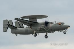 Ryusei10Rさんが、岩国空港で撮影した航空自衛隊 E-2D Advanced Hawkeyeの航空フォト(飛行機 写真・画像)