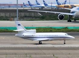 ハム太郎。さんが、羽田空港で撮影したイタリア空軍 Falcon 900EXの航空フォト(飛行機 写真・画像)