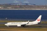 Hiro-hiroさんが、羽田空港で撮影した日本航空 737-846の航空フォト(飛行機 写真・画像)
