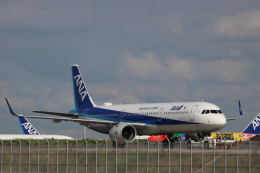 imosaさんが、羽田空港で撮影した全日空 A321-272Nの航空フォト(飛行機 写真・画像)