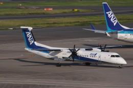 Mr.boneさんが、羽田空港で撮影した全日空 DHC-8-402Q Dash 8の航空フォト(飛行機 写真・画像)