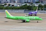 PW4090さんが、福岡空港で撮影したフジドリームエアラインズ ERJ-170-200 (ERJ-175STD)の航空フォト(飛行機 写真・画像)