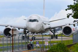 アングリー J バードさんが、福岡空港で撮影した日本航空 A350-941の航空フォト(飛行機 写真・画像)