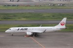 KAZFLYERさんが、羽田空港で撮影したジェイエア ERJ-190-100(ERJ-190STD)の航空フォト(飛行機 写真・画像)