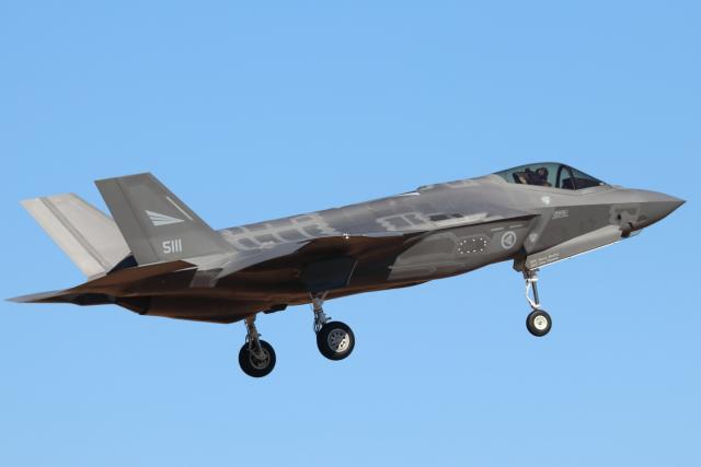 キャスバルさんが、ルーク空軍基地で撮影したノルウェー空軍 F-35A Lightning IIの航空フォト(飛行機 写真・画像)